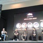 On Stage Live of a comic Artist with Franki Indrasmoro sebagai Moderator, hari kedua Indonesia Comic Con 2 Oktober 2016